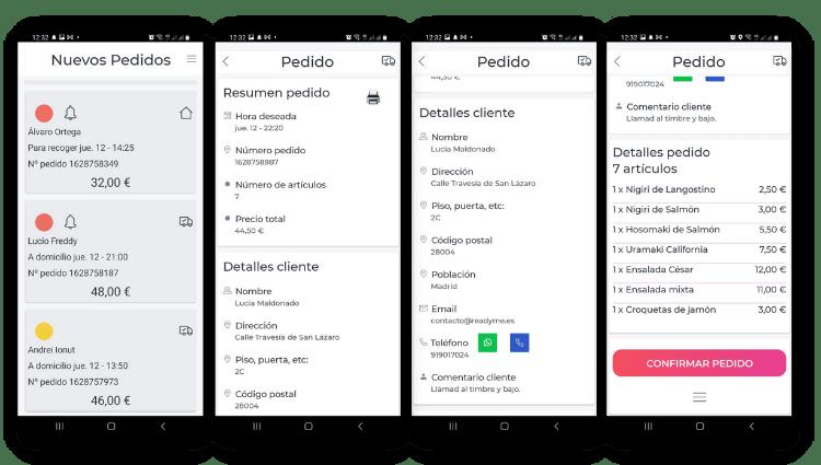 app de gestion android readyme