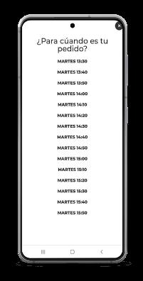 pantalla de hora de entrega- sistema de pedidos readyme.png